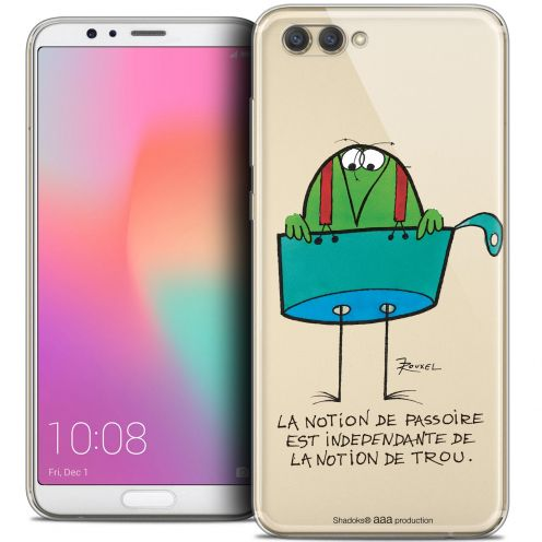 "Extra Slim Crystal Gel Honor View 10 / V10 (6"") Case Les Shadoks® La Passoire"