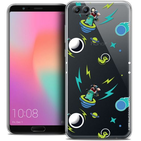 "Crystal Gel Honor View 10 / V10 (6"") Case Lapins Crétins™ Space 1"