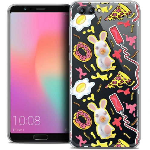 "Crystal Gel Honor View 10 / V10 (6"") Case Lapins Crétins™ Egg Pattern"