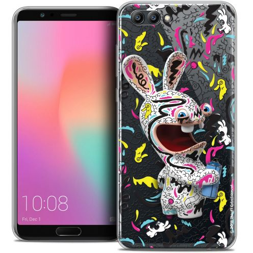 "Crystal Gel Honor View 10 / V10 (6"") Case Lapins Crétins™ Tag"