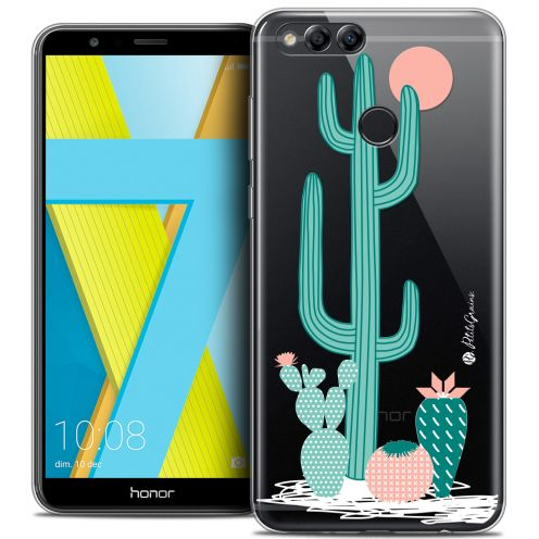 "Extra Slim Crystal Gel Honor 7X (5.9"") Case Petits Grains® A l'Ombre des Cactus"