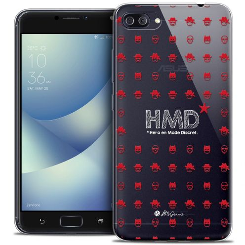 "Extra Slim Crystal Gel Asus Zenfone 4 MAX PLUS / Pro ZC554KL (5.5"") Case Petits Grains® HMD* Hero en Mode Discret"