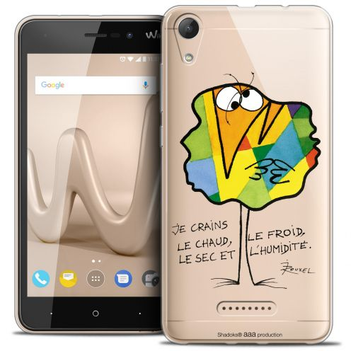 """Extra Slim Crystal Gel Wiko Lenny 4 (5"""") Case Les Shadoks® Chaud ou Froid"""