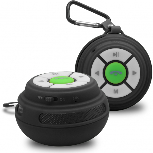 Ultimate SoundBall Bluetooth Speaker 3W Black USB/Micro SD/Jack