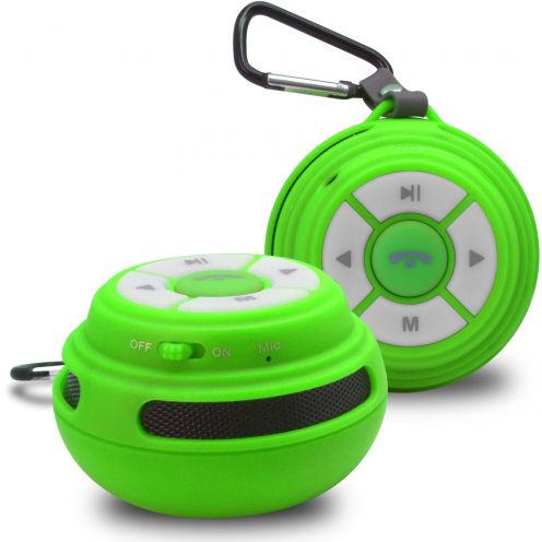 Ultimate SoundBall Bluetooth Speaker 3W Green USB/Micro SD/Jack