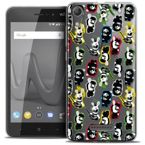 "Crystal Gel Wiko Lenny 4 (5"") Case Lapins Crétins™ Punk Pattern"
