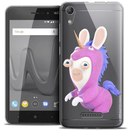 """Crystal Gel Wiko Lenny 4 (5"""") Case Lapins Crétins™ Licorne"""