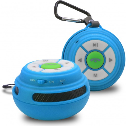 Ultimate SoundBall Bluetooth Speaker 3W Blue USB/Micro SD/Jack