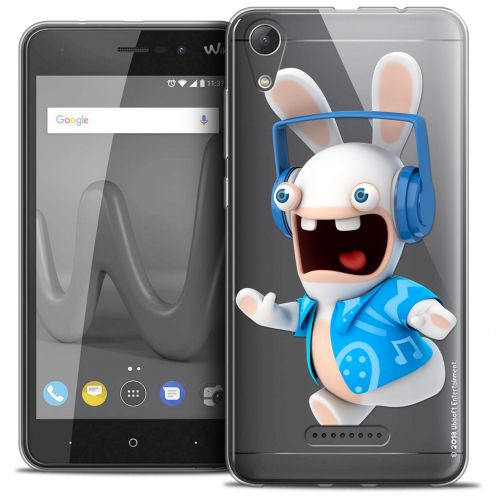 "Crystal Gel Wiko Lenny 4 (5"") Case Lapins Crétins™ Techno Lapin"