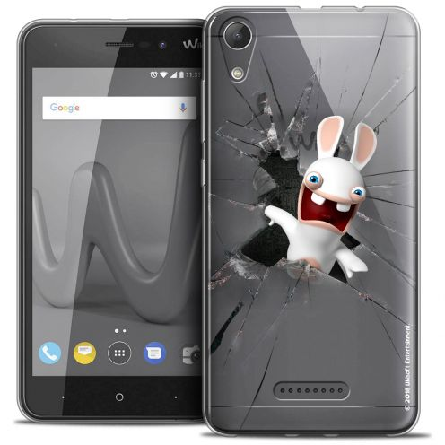 "Crystal Gel Wiko Lenny 4 (5"") Case Lapins Crétins™ Breaking Glass"