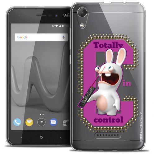 "Crystal Gel Wiko Lenny 4 (5"") Case Lapins Crétins™ In Control !"