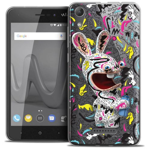 "Crystal Gel Wiko Lenny 4 (5"") Case Lapins Crétins™ Tag"