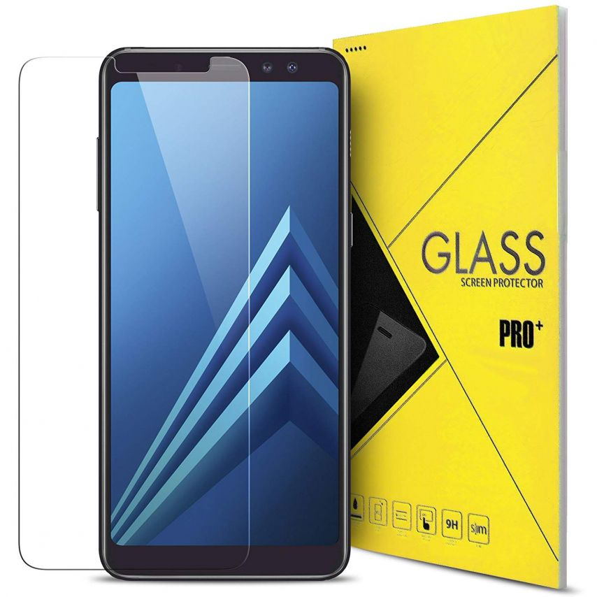 Glass Pro+ Ultra HD 9H 0.33mm Tempered Glass Screen Protector for Samsung Galaxy A8 PLUS (A730)
