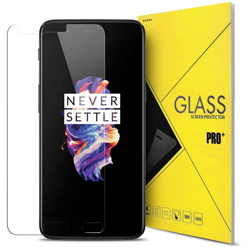 Glass Pro+ Ultra HD 9H 0.33mm Tempered Glass Screen Protector for OnePlus 5