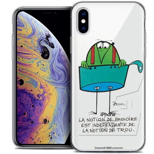 "Extra Slim Crystal Gel Apple iPhone Xs Max (6.5"") Case Les Shadoks® La Passoire"