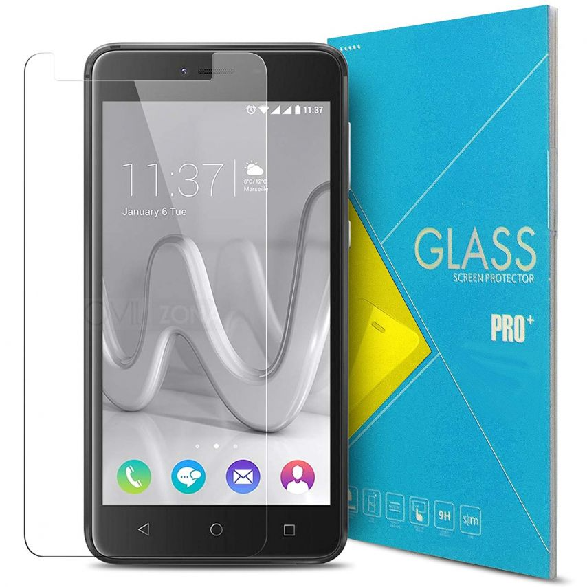 Glass Pro+ Ultra HD 9H 0.33mm Tempered Glass Screen Protector for Wiko Lenny 3 MAX