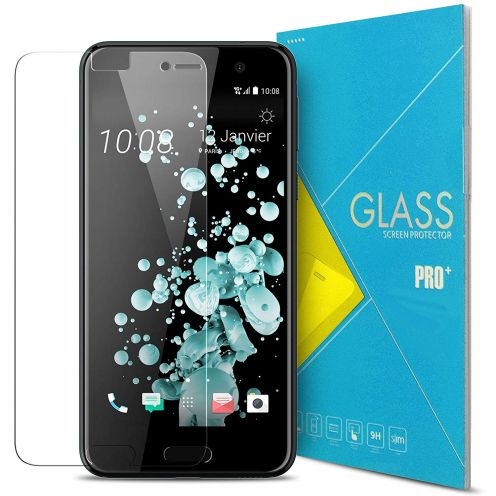 Glass Pro+ Ultra HD 9H 0.33mm Tempered Glass Screen Protector for HTC U Play