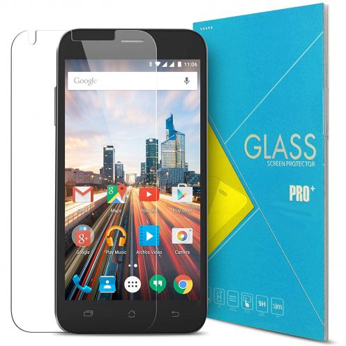 Glass Pro+ Ultra HD 9H 0.33 mm Tempered Glass Screen Protector for Archos 50 Helium Plus 4G 5""