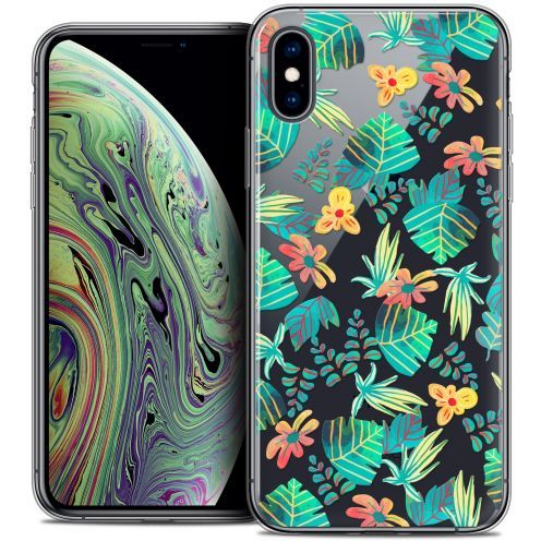 "Extra Slim Crystal Gel Apple iPhone Xs Max (6.5"") Case Spring Tropical"