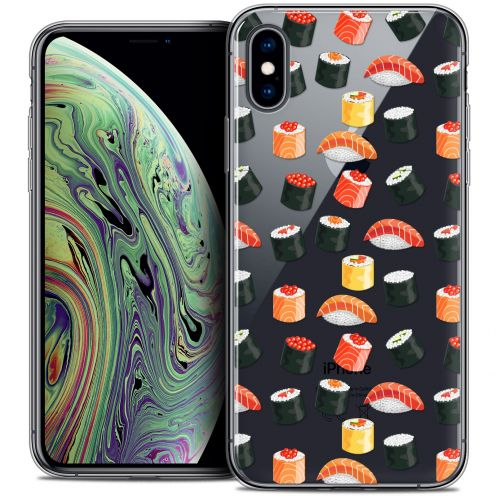 "Extra Slim Crystal Gel Apple iPhone Xs Max (6.5"") Case Foodie Sushi"
