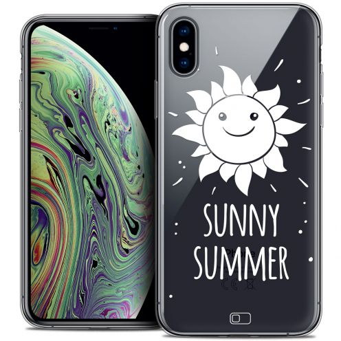 "Extra Slim Crystal Gel Apple iPhone Xs Max (6.5"") Case Summer Sunny Summer"