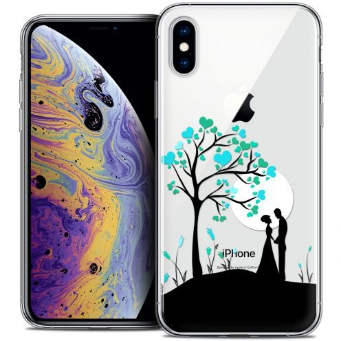 "Extra Slim Crystal Gel Apple iPhone Xs Max (6.5"") Case Love Sous l'arbre"