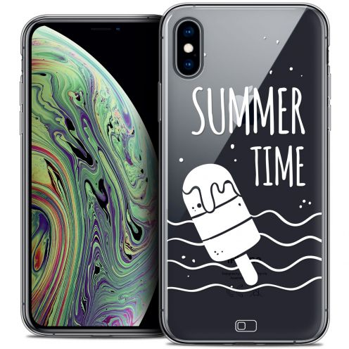 "Extra Slim Crystal Gel Apple iPhone Xs Max (6.5"") Case Summer Summer Time"