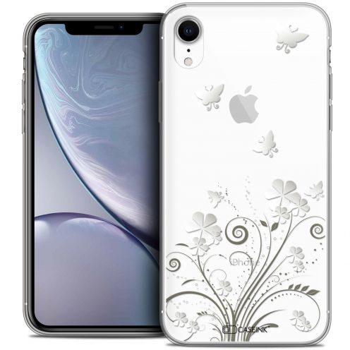 """Extra Slim Crystal Gel Apple iPhone Xr (6.1"""") Case Summer Papillons"""