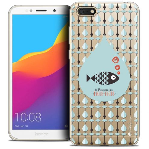 "Extra Slim Crystal Gel Huawei Y5 2018 (5.4"") Case Petits Grains® Le Poisson"