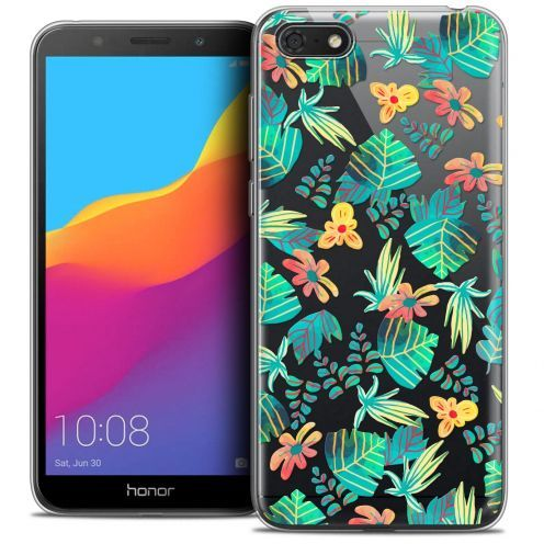 "Extra Slim Crystal Gel Huawei Y5 2018 (5.4"") Case Spring Tropical"