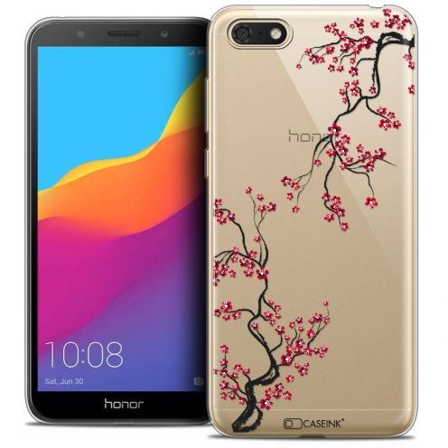 "Extra Slim Crystal Gel Huawei Y5 2018 (5.4"") Case Summer Sakura"