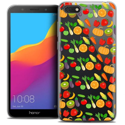 "Extra Slim Crystal Gel Huawei Y5 2018 (5.4"") Case Foodie Healthy"