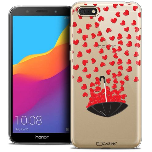 "Extra Slim Crystal Gel Huawei Y5 2018 (5.4"") Case Love Parapluie d'Amour"