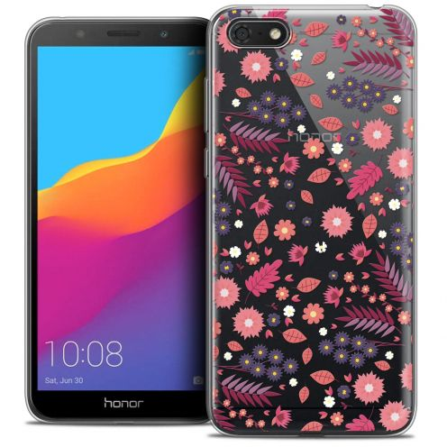 "Extra Slim Crystal Gel Huawei Y5 2018 (5.4"") Case Spring Printemps"