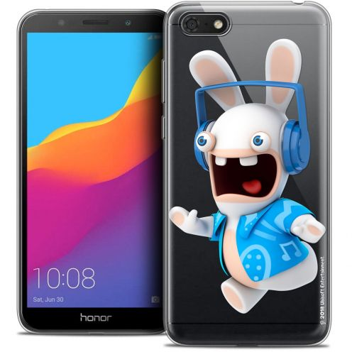 """Crystal Gel Honor 7S (5.45"""") Case Lapins Crétins™ Techno Lapin"""