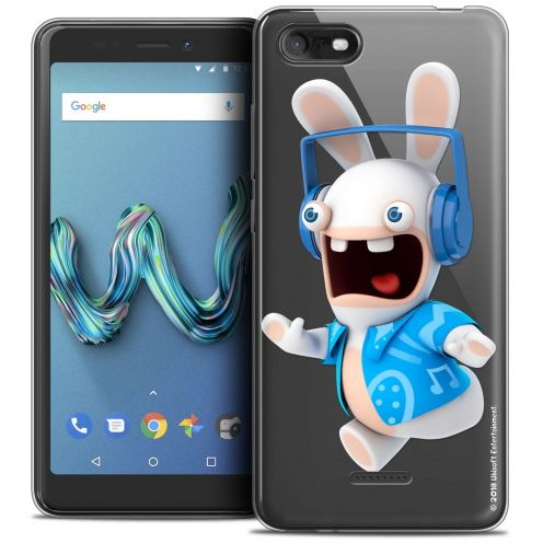"Crystal Gel Wiko Tommy 3 (5.45"") Case Lapins Crétins™ Techno Lapin"