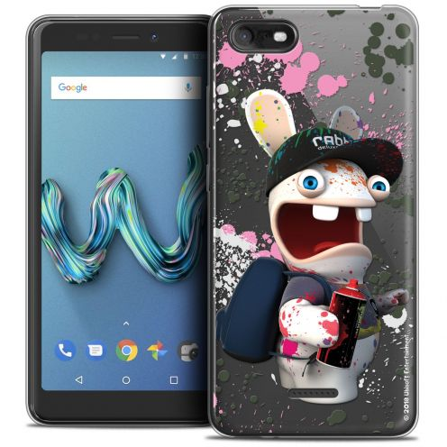 """Crystal Gel Wiko Tommy 3 (5.45"""") Case Lapins Crétins™ Painter"""