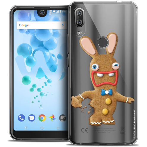 """Crystal Gel Wiko View 2 PRO (6.0"""") Case Lapins Crétins™ Cookie"""