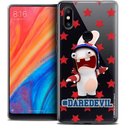 "Crystal Gel Xiaomi Mi Mix 2S (5.99"") Case Lapins Crétins™ Dare Devil"