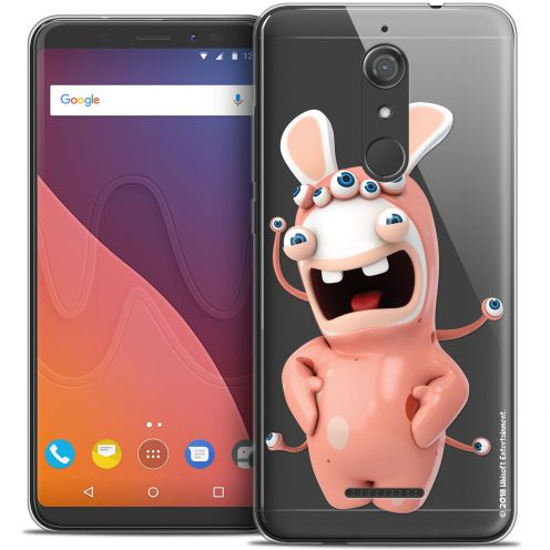 """Crystal Gel Wiko View (5.7"""") Case Lapins Crétins™ Extraterrestre"""