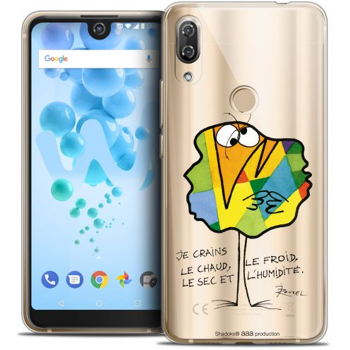 "Extra Slim Crystal Gel Wiko View 2 PRO (6.0"") Case Les Shadoks® Chaud ou Froid"