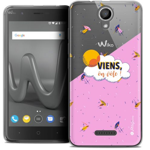 "Extra Slim Crystal Gel Wiko Harry (5"") Case Petits Grains® VIENS, On Vole !"