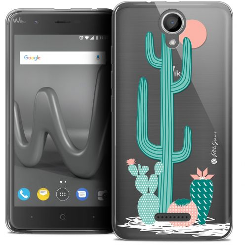 "Extra Slim Crystal Gel Wiko Harry (5"") Case Petits Grains® A l'Ombre des Cactus"