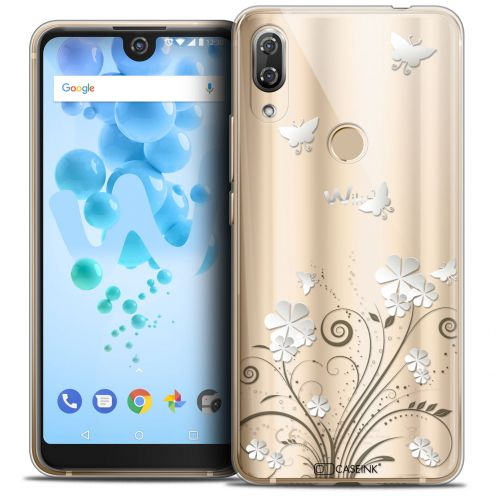 "Extra Slim Crystal Gel Wiko View 2 PRO (6.0"") Case Summer Papillons"