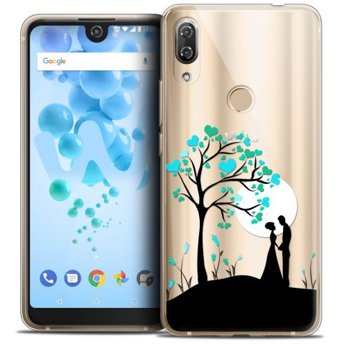 "Extra Slim Crystal Gel Wiko View 2 PRO (6.0"") Case Love Sous l'arbre"