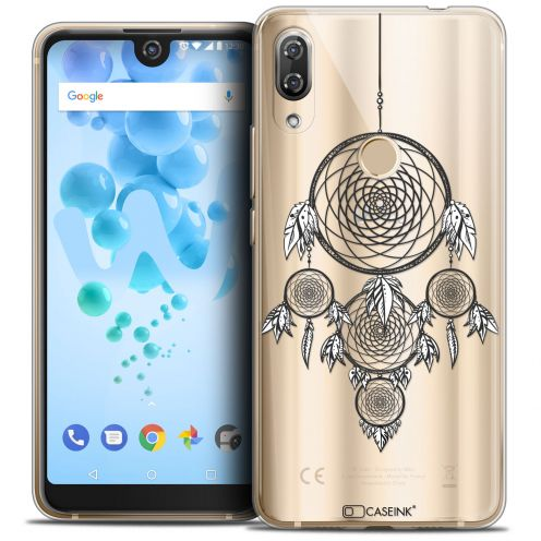 "Extra Slim Crystal Gel Wiko View 2 PRO (6.0"") Case Dreamy Attrape Rêves NB"