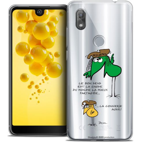 """Extra Slim Crystal Gel Wiko View 2 (6.0"""") Case Les Shadoks® Le Partage"""