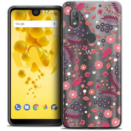 "Extra Slim Crystal Gel Wiko View 2 (6.0"") Case Spring Printemps"