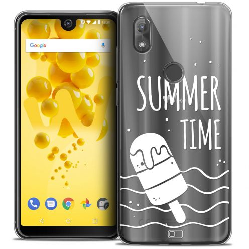 """Extra Slim Crystal Gel Wiko View 2 (6.0"""") Case Summer Summer Time"""