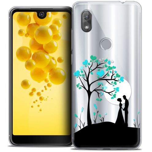 "Extra Slim Crystal Gel Wiko View 2 (6.0"") Case Love Sous l'arbre"